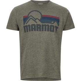 Marmot Marmot Coastal - Camiseta manga corta Hombre - Oliva